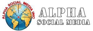 Alpha Social Media® Inc Logo